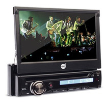Dvd Player Automotivo Retrátil 7 - Bluetooth - Usb/sd