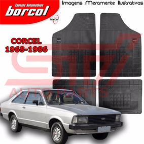 Tapete Borracha Milano A Ford Corcel 2 1968 A 1986 Borcol