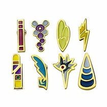 Pokemon Gym Badges: Gen 5 - Unova Region Badges