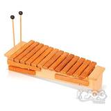 Xilofone Orff Soprano 13 Teclas De Madeira