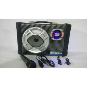 Caixa De Som Micro System Amplificada Bluetooth Usb - A-70