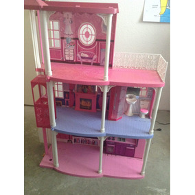 Mansión De Barbie Rosa, Con Elevador Y Sonidos.