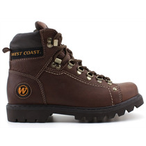 Bota Marrom Masculina West Coast 5790 Original Worker Pixolé
