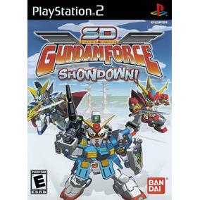 Solo Canje Gundam Force Showdown! Original Ps2 Solo Canje