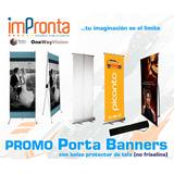 Promocion - Porta Banners Importación - Precios X Mayor