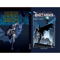Batman Año Uno Frank Miller En Tapa Dura Planeta Deagostini