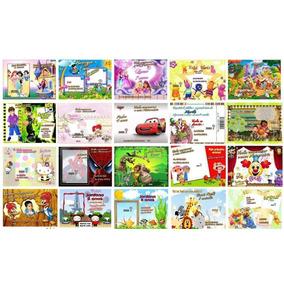 50 Convites Infantil Personalizado ( Frete Grátis)