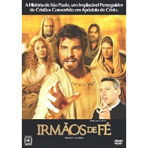 Dvd Irmãos De Fé Thiago Lacerda Padre Marcelo Rossi Original