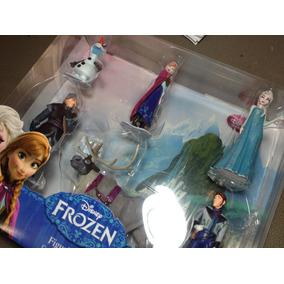 Frozen Set De 6 Figuras Elsa, Ana, Sven, Olaf, Kristoff,hans