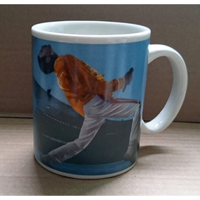 Caneca Oficial Queen Live At Wembley 1986 Freddie Mercury