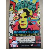 Programa De Robert Plant En El Luna Park-nuevo