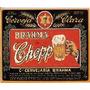 Imã De Geladeira Rótulo Cerveja Brahma