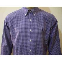 Camisa Manga Longa Custom Fit Polo Ralph Lauren Masculina