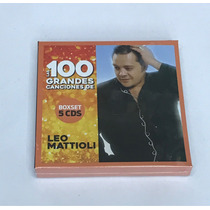 Leo Mattioli 100 Grandes Canciones Box Set 5 Cds+cd Regalo