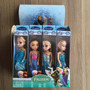 Kit Caixa 12 Mini Bonecas Princesas Frozen Disney Festa