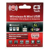 Adaptador Wireless Usb W-u2310nl V2 C3 Tech