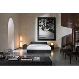 Cama Dos Plazas Lineal + 2 Veladores Dormitorio Dr 007