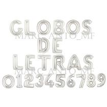 Globo Letras Numeros Fiesta Cumpleaños Decoración