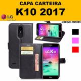 Capa Case Carteira Flip Cover Novo Lg K10 2017 M250