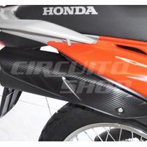 Adesivo Protetor Escape Moto Honda Bros 150 125 -2009 A 2014