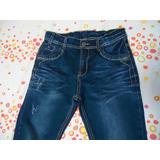 Calça De Jeans Infantil Azul Escovada