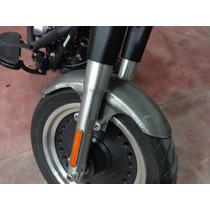 Paralama Dianteiro Artesanal Aço Fatboy 160x50cm C/ Aba 1cm