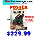 Poster Call Of Duty (en Lona)