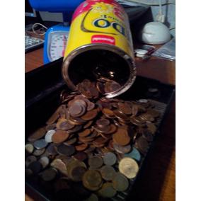 Lote De Un Kilo [kg] De Monedas Argentinas En Mal Estado