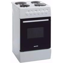 Cocina Electrica 4 Hornallas Horno Brogas 50cm Anafe Oferta!