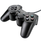 Joypad Dualshock Com Fio 3 Em 1 Para Ps2/ps3/pc - Multilaser