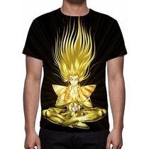 Camisa, Camiseta Shaka De Virgem - Mod 03 - Estampa Total