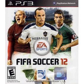 Fifa Soccer 12 - Ps3 - Mídia Física - Lacrado