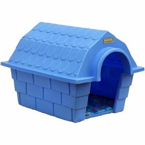 Casinha Dog House Grande - Azul