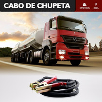 Cabo De Chupeta Carga Caminhão E Carros 3 Metros 70mm 800a