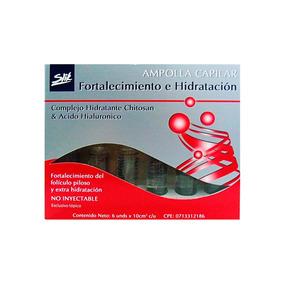 Cirugia Capilar Ampolla De Fortalecimiento Slik 6 Uni.