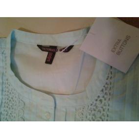 Remera Blusa Top Camisa Playa Victoria Secret Original L