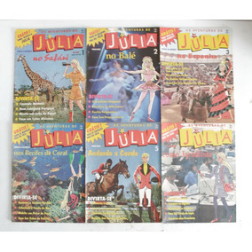 As Aventuras De Júlia Fascículos 18 Revistas Frete Grátis