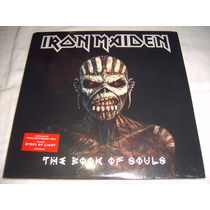 Lp Iron Maiden - The Book Of Souls