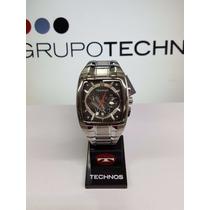 Relógio Masculino Technos Quadrado Esportivo Os20hw/1r - Nf