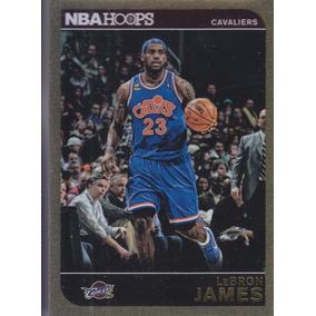 2014-15 Hoops Gold Lebron James Cavaliers