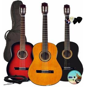 Guitarra Electro Criolla Acustica Funda De Regalo Garantia