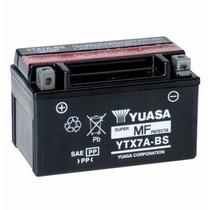 Bateria Yuasa Ytx 7a - Bs Suzuki Vz 400/burgman125/ Xlr 125