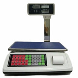 Balança Digital Multi-funcional Imprime Etiqueta 50kg - St