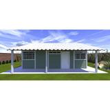 Kit Casa Pré-fabricada Moldada De Concreto