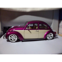 Welly 1/24 Fusca Tunning Hard Top Beetle Novo Rebaixado