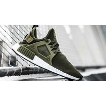 Adidas Originals Nmd Xr1 Olive Human Rase Yeezy Nba