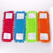Kit 4 Refil Vassoura Mop Microfibra Esfregão Limpeza
