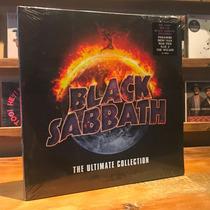 Black Sabbath The Ultimate Collection Edicion 4 Vinilos