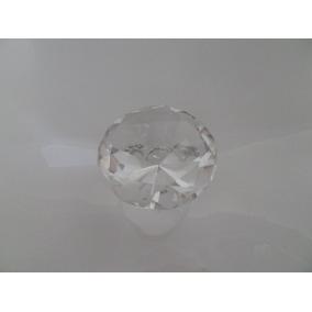 Figura Cristal Grande En Forma Diamante !! 8 Cm Recuerdos