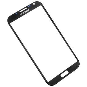 Samsung Galaxy Note 2 Refacción Cristal Negro Gorilla Glass